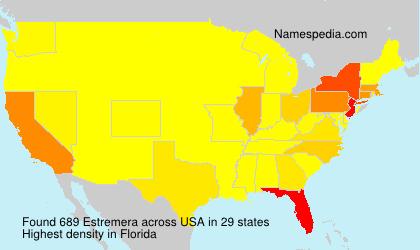 Familiennamen Estremera - USA