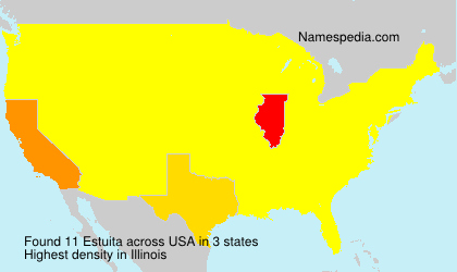 Surname Estuita in USA