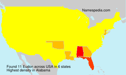 Surname Eudon in USA