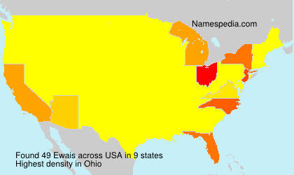 Surname Ewais in USA