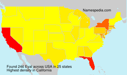 Surname Eyal in USA