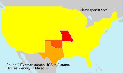 Eyeman - USA