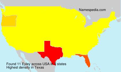 Familiennamen Eyley - USA