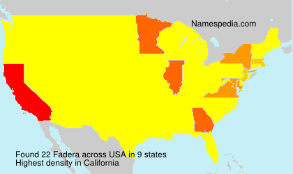 Fadera - USA