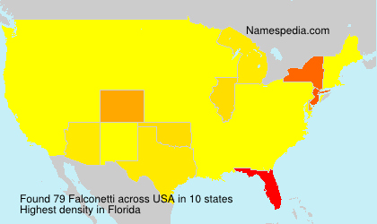 Surname Falconetti in USA