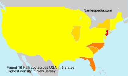 Surname Faltraco in USA