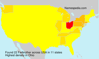 Surname Farbrother in USA