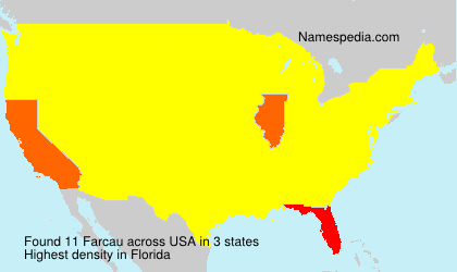 Surname Farcau in USA