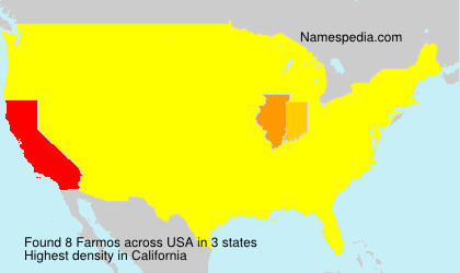 Surname Farmos in USA