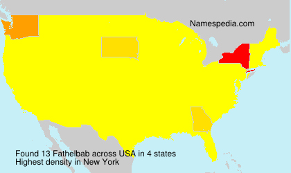 Surname Fathelbab in USA
