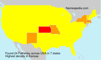 Surname Fatherley in USA