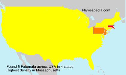 Surname Fatumata in USA