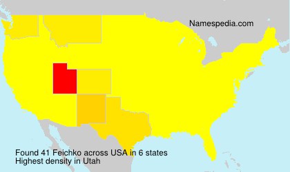 Surname Feichko in USA