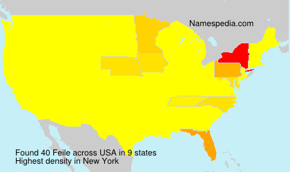 Surname Feile in USA