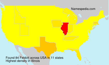 Surname Feldott in USA