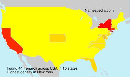 Surname Fenaroli in USA