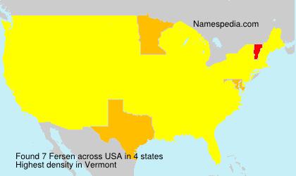 Fersen - USA