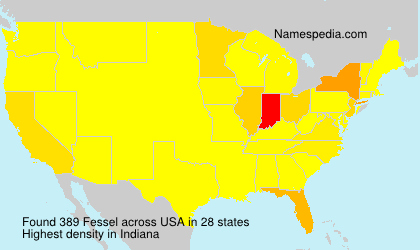 Surname Fessel in USA