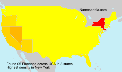 Surname Fiannaca in USA