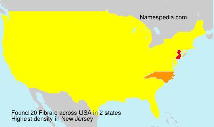 Surname Fibraio in USA