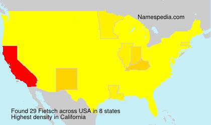 Fietsch - USA