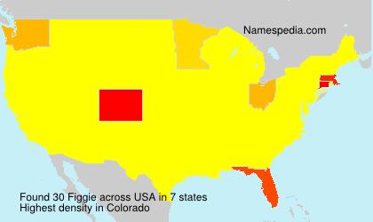 Familiennamen Figgie - USA