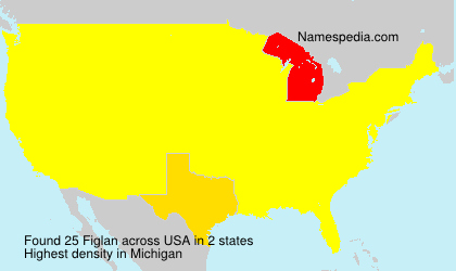 Surname Figlan in USA