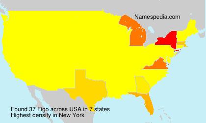 Familiennamen Figo - USA