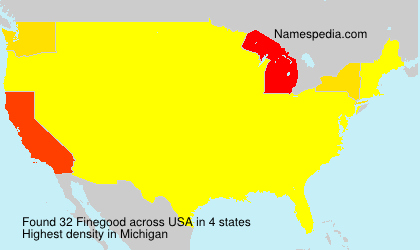 Surname Finegood in USA