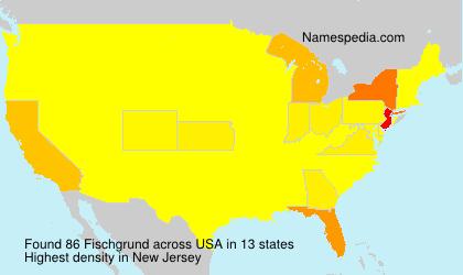 Surname Fischgrund in USA