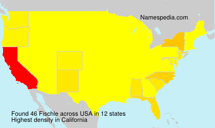 Surname Fischle in USA