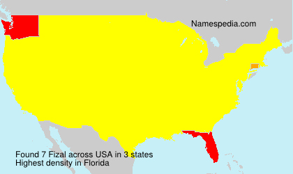 Surname Fizal in USA