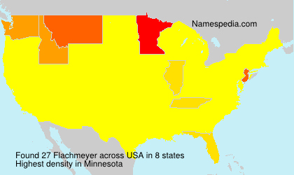 Surname Flachmeyer in USA