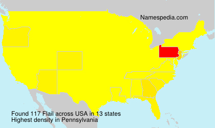 Surname Flail in USA