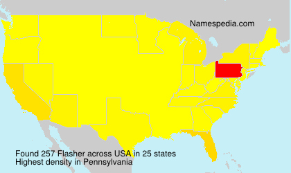 Surname Flasher in USA