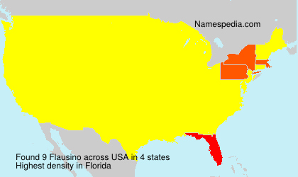 Surname Flausino in USA
