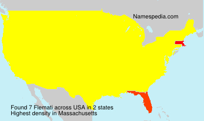 Surname Flemati in USA