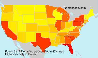 Surname Flemming in USA