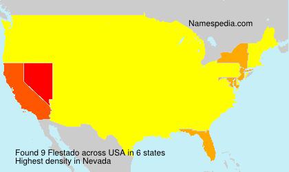 Surname Flestado in USA