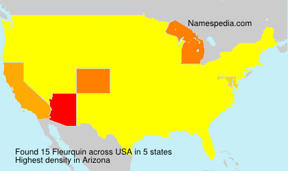 Surname Fleurquin in USA
