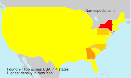Surname Flipo in USA