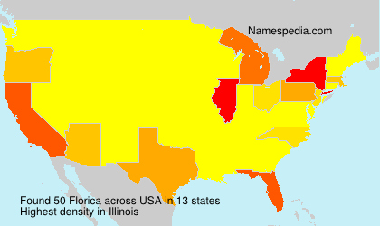 Surname Florica in USA