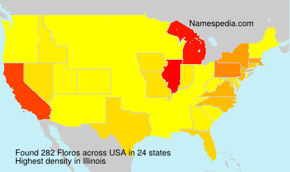 Surname Floros in USA