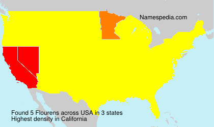 Surname Flourens in USA