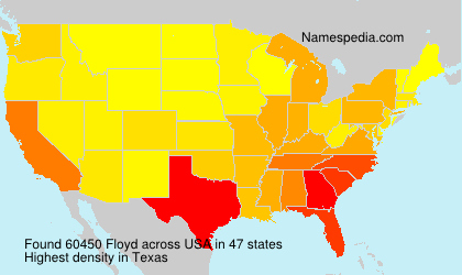 Surname Floyd in USA