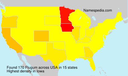 Surname Flugum in USA
