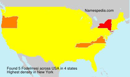 Surname Fodelmesi in USA