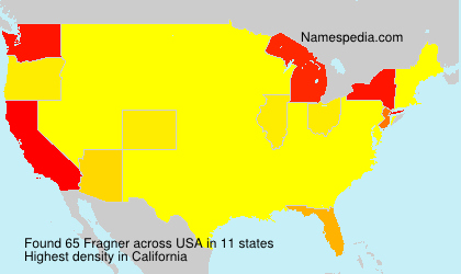 Surname Fragner in USA
