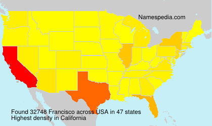 Surname Francisco in USA