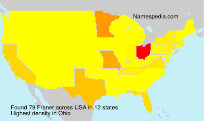 Surname Franer in USA